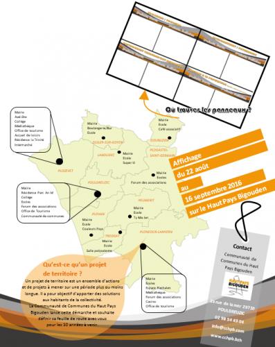 Projet de territoire CCHPB - 2016