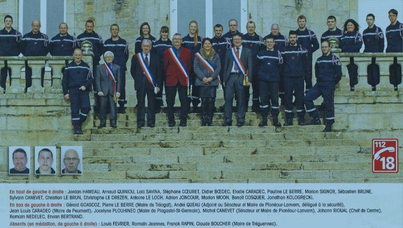 Sapeurs-Pompiers de Plonéour-Lanvern : les effectifs en 2015