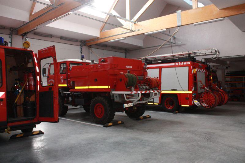 Sapeurs-Pompiers de Plonéour-Lanvern : les remises