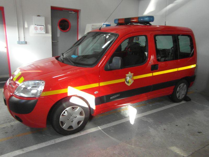 Sapeurs-Pompiers de Plonéour-Lanvern : Véhicule Léger Utilitaire (VLU)