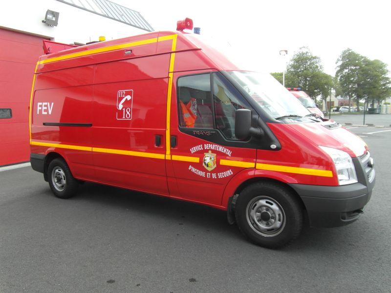 Sapeurs-Pompiers de Plonéour-Lanvern : Fourgon Electro-ventilateur (FEV)