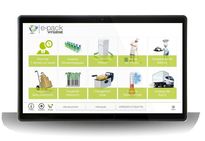Logiciel e-pack Hygiène pour la traçabilité