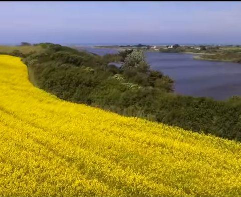 Le Haut Pays Bigouden filmé par un drone