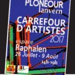 Carrefourd'artistes à Plonéour-Lanvern, été 2017