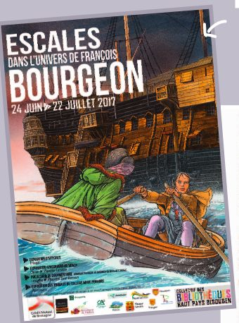 Exposition Escale dans l'univers de François Bourgeon