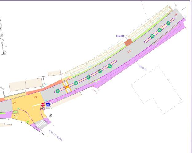 Route de Quimper - Aménagement phase 2